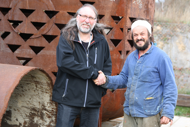 v Xantypě mi vyšel například rozhovor s malířem a hercem Tomášem Bambuškem