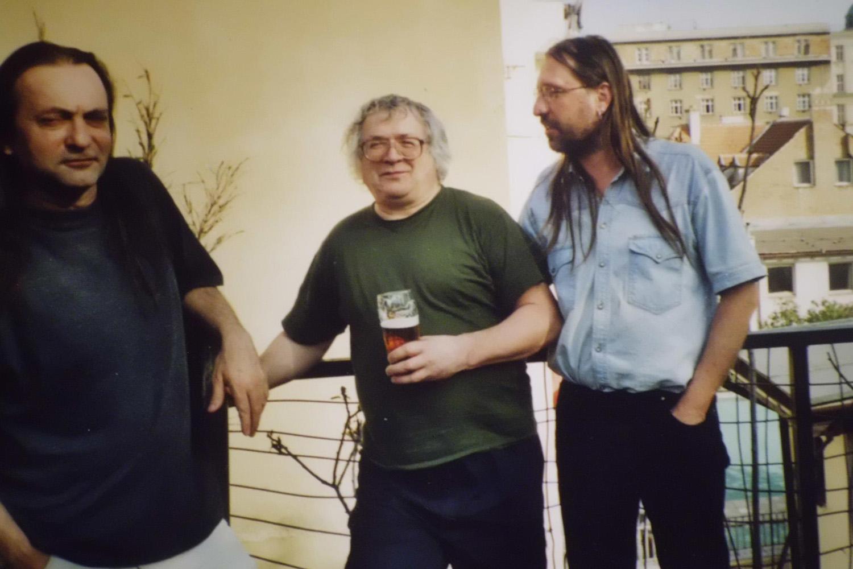 jak s Jaroslavem Erikem Fričem, tak zejména s Ivanem Martinem Jirousem jsem dělal několik rozhovorů, oba dva již bohužel nejsou mezi námi