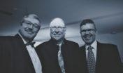 S předsedou lounské ODS Janem Vaicem a bývalým starostou Loun Janem Kernerem (2002 - 2014)