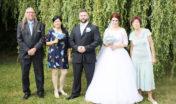 Svatba syna Ondřeje s Jaruškou Šlégrovou