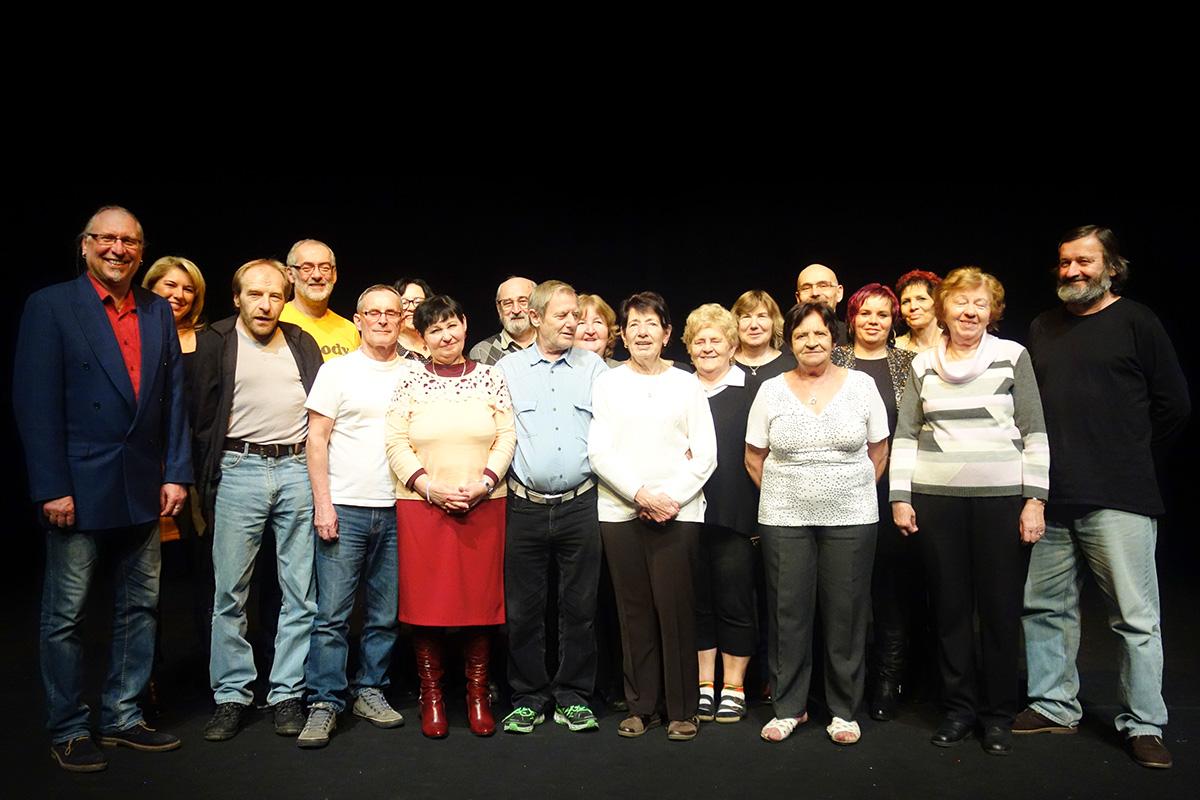 Se zaměstnanci Vrchlického divadla (2018)