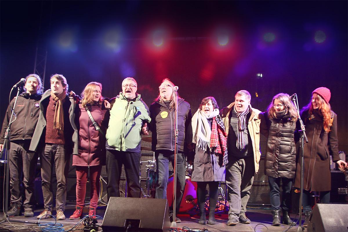 Koncert na podporu prof. Drahoše (2018)