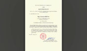 Diplom za účast v odboji a odporu vůči komunismu
